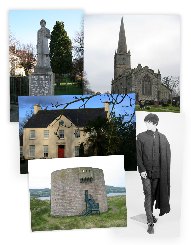 A selection of images featured in 'An Illustrated History of Limavady and the Roe Valley'.